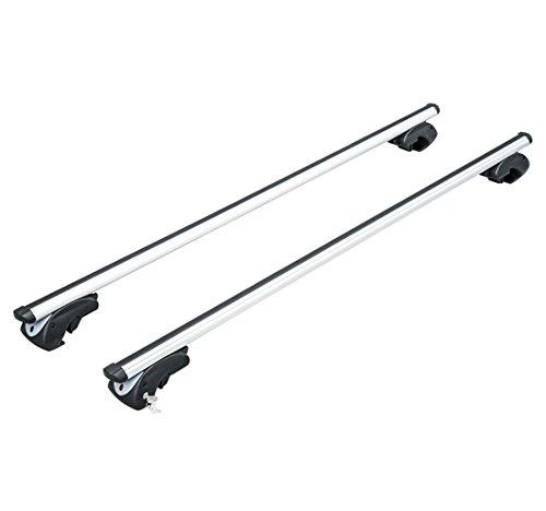 Outsunny - Barre Portatutto Universali 120 cm Alluminio...