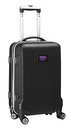 Save %16 Now! Denco NCAA Kansas State Wildcats Carry-On Hardcase Luggage Spinner, Black