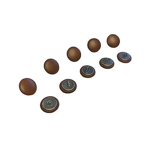 Chesterfield-knopen van 20 mm met draadrug voor traditionele Chesterfield-bekleding, banken, stoelen, krukken, handgemaakt in Engeland, antieke afwerking, 10 stuks