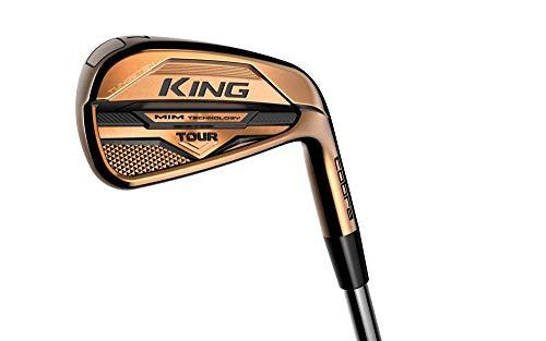 Cobra Golf 2021 King Mim Tour Copper Iron Set (Men'S, Right Hand, Steel, Stiff Flex, 4-Pw)