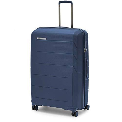 Ciak Roncato Air - Maleta con Ruedas (Polipropileno), Color Azul Marino