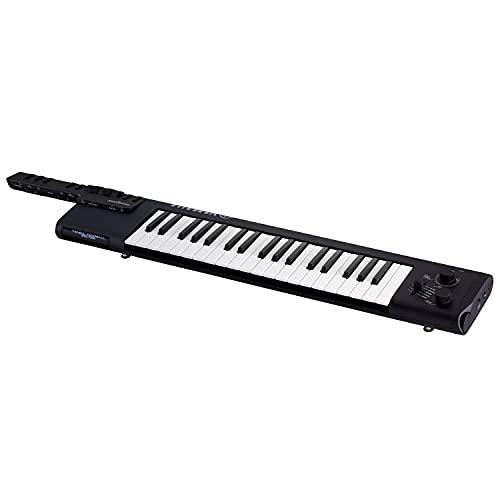YAMAHA Digital Keyboard Sonogenic SHS-500B, Tastiera Elettronica Digitale a Tracolla con MIDI, USB e Bluetooth, Keytar Portatile con Funzione JAM, Nero