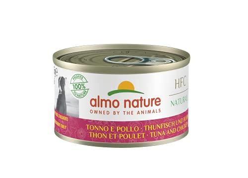 almo nature Dog HFC Natural Pollo y Atún - Paquete de 24 x 95 gr - Total: 2280 gr