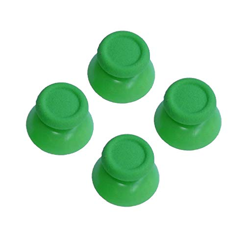 2 Pairs Thumbsticks Analog Thumb Sticks for Sony Playstation Dual Shock 4 PS4 Controller,fits Xbox One Controller (Black)