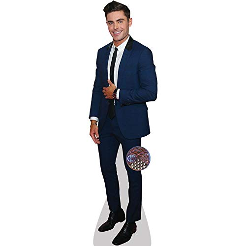 Celebrity Cutouts Zac Efron (Blue Suit) Pappaufsteller lebensgross