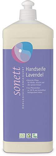 Sonett Bio Handseife Lavendel (6 x 1000 ml)