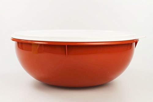 TUPPERWARE Rührschüssel PENG XXL 6,0 L terrakotta Schüssel Salatbar Maxima Salat