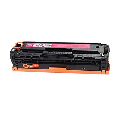 AXAX Cartucho de tóner compatible 125A para HP CB540A, CB541A, CB542A, CB543A, para impresoras HP CP1215, CP1515N, CP1518NI, color magenta