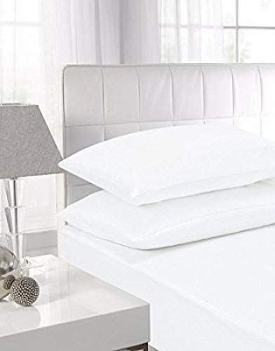 """100/% Egyptian T-200 Fitted Sheet Deep 16/""""//40 CM Box Single Double King Superking"""