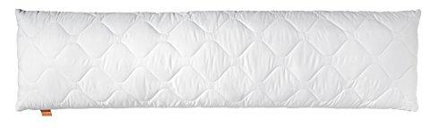 sleepling 190110 Komfort 100 Seitenschläferkissen Mikrofaser 40 x 145 cm, weiß