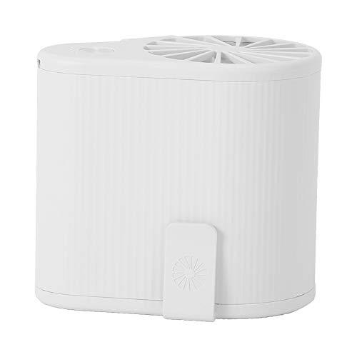 NITRIP Gürtelventilator tragbarer Ventilator Hüftgurtventilator USB wiederaufladbarer Jet-Ventilator tragbarer Ventilator Langzeitbetrieb Mini-Ventilator(White)