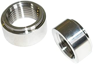 Joyway Stainless Steel Inner Hex Head Pipe Fitting Plug Oxygen O2 Sensor Bung M18x1.5 Thread Pack of 2
