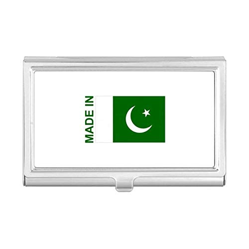 Made in Pakistan Country Love Business Card Holder Case Pocket Box Wallet