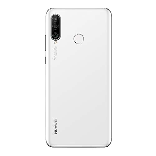 Huawei P30 Lite Smartphone débloqué 4G (6,15 pouces - 128Go - Double Nano SIM - Android 9.0) Blanc...