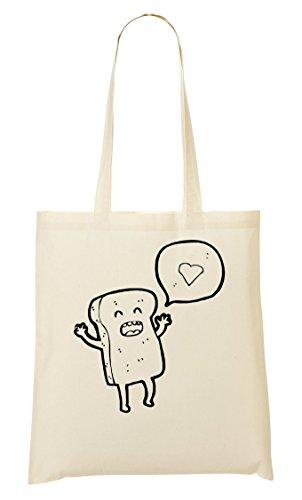 C+P I Toast Cute Tragetasche Einkaufstasche