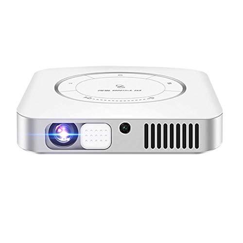 ZXN RTU Impresionante calidad de imagen Full HD 1080P Proyector de vídeo portátil compatible con mini proyector TV Stick HDMI USB Sound Bar Videojuegos compatible última actualización