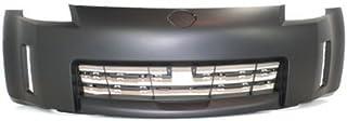 Crash Parts Plus Primed Front Bumper Cover Replacement for 2006-2009 Nissan 350Z