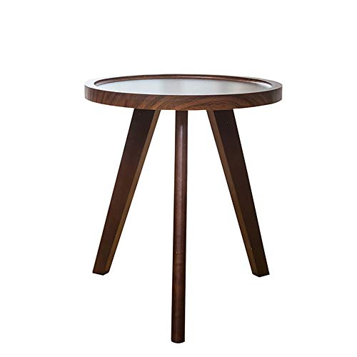 Bureau DD bijzettafel, massief hout hoge tafel, bank hoek, balkon koffietafel, snacktafel, salontafel -werkbank