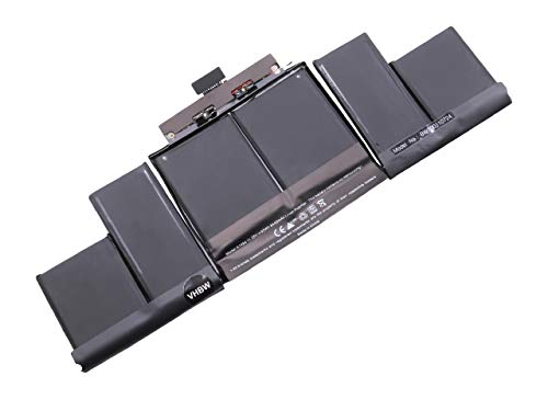 vhbw Batterie Compatible avec Apple Macbook Pro Retina Display 15\