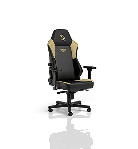 noblechairs Hero Gaming, sedia da gaming, sedia da ufficio, ergonomica, da scrivania, per gaming, sedia da gioco, sedia da ufficio, portata 150 kg (Knossi Edition, pelle sintetica)