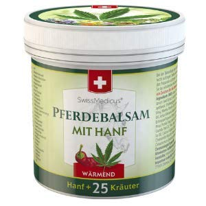 SwissMedicus Pferdebalsam mit Hanf...