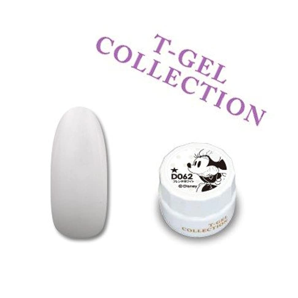 賞賛夜間約束するジェルネイル カラージェル T-GEL ティージェル COLLECTION カラージェル D062 フレンチホワイト 4ml