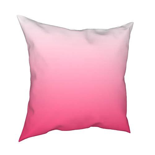 DearLord Fundas de cojín cuadradas de doble cara para sofá dormitorio con cremallera invisible de 45,7 x 45,7 cm