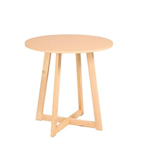 LSX - salontafel kleine salontafel, bijzettafel kleine salontafel eenvoudige moderne houten salontafel bank kleine ronde tafel nachtkastje een paar hoeken (2 kleuren, 5 maten). bijzettafel