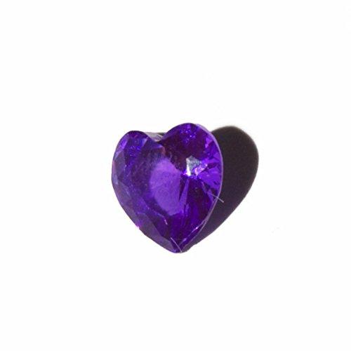 Corazón - febrero de lado de 5 mm para estar encanto flotante de la memoria y estilo Origami buho de las virutas