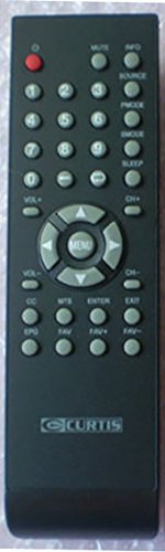 Smartby New Curtis TV Remote Control for LCD2425A PLE 2694A PLCD3708A PLCD3271A PLCD3271AB
