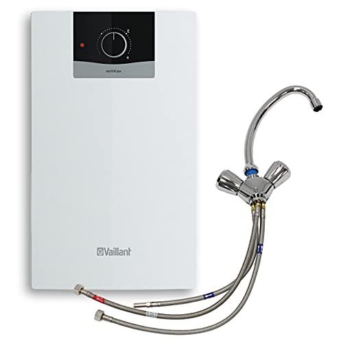 Vaillant Warmwasserspeicher, Untertischgerät eloSTOR VEN 5/7 U plus, Temperier-ArmaturVNU 2 (302596), 230 V, Kapazität: 5 Liter, Niederdruckspeicher, Elektro-Kleinspeicher, 0010021142