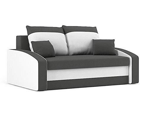 Sofini Sofa Hewlet mit Schlaffunktion! Best Sofa! 2- Sitzer Sofa! (Haiti 14+ Haiti 0)