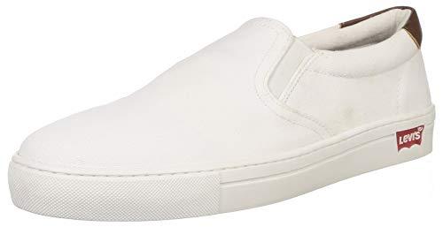 Levi's Men Arizona White Sneakers-10 UK (44 EU) (11 US) (38099-1661)