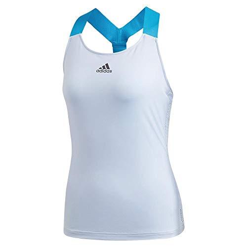 adidas Women's Tennis Y-Tank Primeblue Easy Blue X-Large
