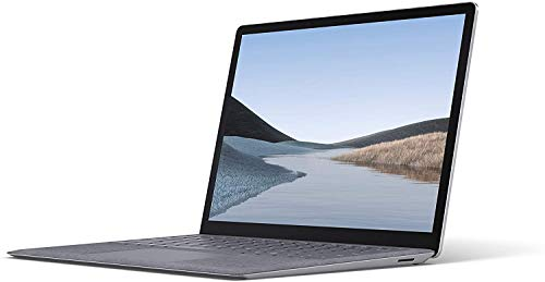 Microsoft Surface Laptop 3 PC UltraPortable (Écran 13 Pouces, Intel Core i5, 8Go de RAM, 128Go de Stockage SSD) Platine (Finition Alcantara)