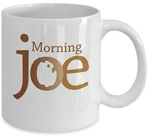 Morning Joe White Mug - Present For Morning Joe's Lovers - 11oz Coffee Mug