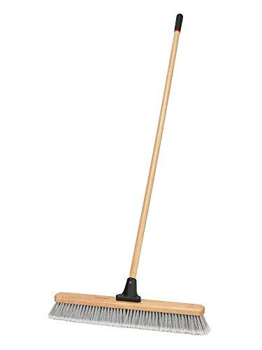 Harper 1425P1 Indoor Smooth-Surface Hardwood 24 in. Push Broom