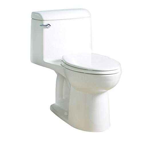 American Standard 2004314.020 Champion 4 Elongated One-Piece 1.6 GPF with Toilet Seat, Normal Height, White