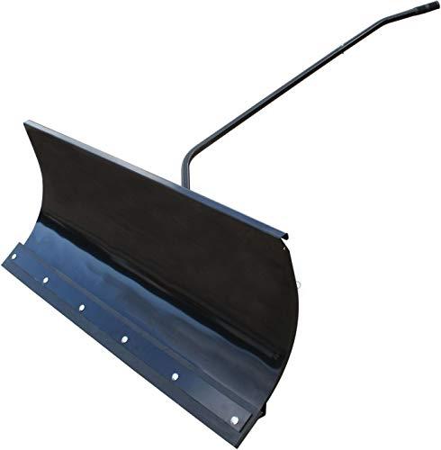 SECURA Schneeschild 118x50cm kompatibel mit Husqvarna CT141 Rasentraktor