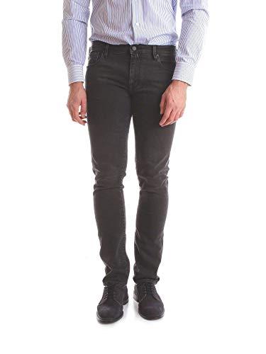 Luxury Fashion | Jacob Cohen Heren JCU01J69600947BLACK Zwart Elasthaan Jeans | Seizoen Outlet