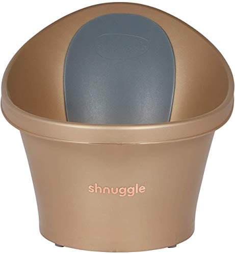 Shnuggle Baby Bath with Bum Bump Support and Cosy Foam Back Rest