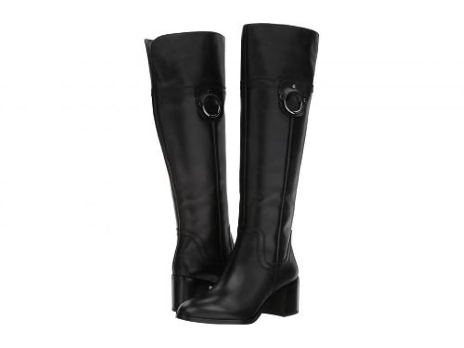 熟達ピア店主Franco Sarto(フランコサルト) レディース 女性用 シューズ 靴 ブーツ ロングブーツ Beckford - Black Leather [並行輸入品]