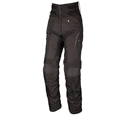 Modeka Elaya Damen Motorrad Textilhose Schwarz 44