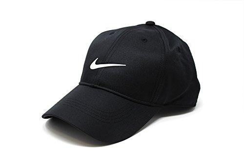 NIKE(ナイキ) ゴルフ Dri-FIT Swoosh キャップ BLACK/WHITE