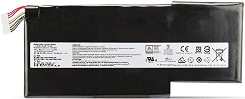 ノートパソコンのバッテリーBTY-M6K Laptop Battery Replacement for MSI Stealth Pro GS63VR 7RG 7RG-005 7RG-036CN GF63 8RD-031TH 8RC-034CZ 9SC GF75 Thin 3RD 8RC 8RD 8SC 9SC-088CN Series MS-16K3 MS-17B4ート用PC 互換バッテリー 交換用充電池