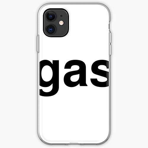Text Typography Twitter Trend Gas Word Trends - Phone Case for All of iPhone 12, iPhone 11, iPhone 11 Pro, iPhone XR, iPhone 7/8 / SE 2020… Samsung Galaxy