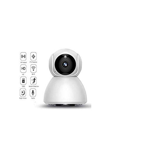Dome Security Camera, Smart Wireless Surveillance Webcam voor Baby Oudere Pet Nanny Monitor
