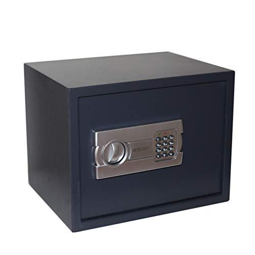 Caja fuerte digital para oficina o uso doméstico, para montaje en pared o suelo (300x380x300)