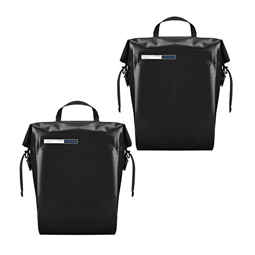 Great Price! Multifunctional Bike Rack Seat Bag 2 Pack of Waterproof Single Rear Bicycle Pannier Bag...
