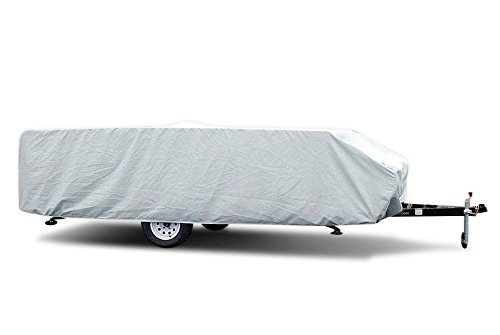 Pop Up Folding Camper Cover RV Covers/Excellent Protection Against Harmful UV Rays/Marine Grade/Extremely Durable (20'-22')